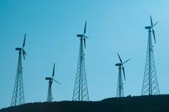 energiwind Royaltyfri Bild