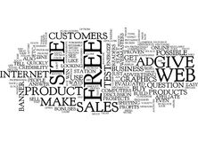 Energize Your Sales Word Cloud Concept Stock Image