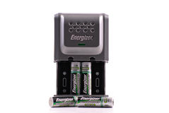 Energizer Battery Charger Stock Image