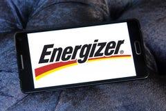 Energizer Battery Company embleem Stock Foto's