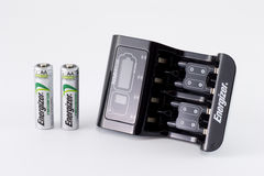 Energizer Intelligent Charger Royalty Free Stock Photos