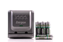 Energizer Rechargeable Cell Royalty Free Stock Photos