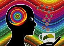 Energizing Tea Brake Stock Images