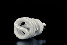 Energooszczędna żarówka CFL Fotografia Royalty Free