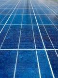 Energooszczędni ogniwa słoneczne Fotografia Stock