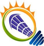 Energooszczędny logo ilustracji