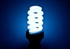 Energooszczędna lampa Obrazy Royalty Free
