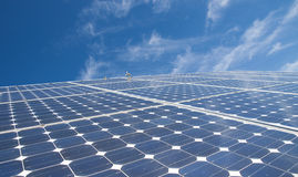 Energy. Solar energy for clean environment Royalty Free Stock Photography