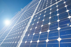 Energy. Solar energy for clean environment Stock Images