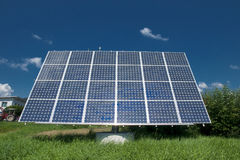 Energy. Solar energy for clean environment Stock Image