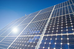Energy. Solar energy for clean environment Royalty Free Stock Photos