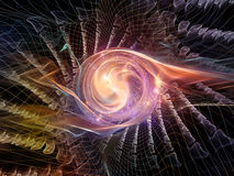 Energy of Abstract Visualization Royalty Free Stock Photography