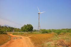 Energy alternatives 6. Wind farm in Indian province of Kerala. Alternative energy sources 8. Wind farm in Indian province of Kerala. Many wind-powered Royalty Free Stock Photos