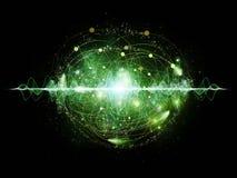 Energy of Atom Royalty Free Stock Photography