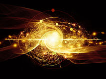 Energy of Atom Stock Images