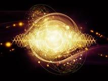 Energy of Atom Stock Photo