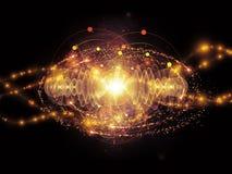 Energy of Atom Stock Photography