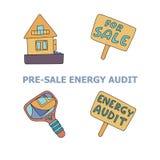 Energy audit similar royalty free illustration