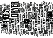 Energy Aware And Waste Wise Text Background Word Cloud Concept Stock Photography