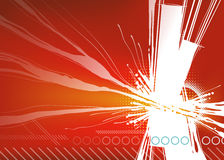 Energy Background. An illustration of an exploding abstract energy background Stock Photography