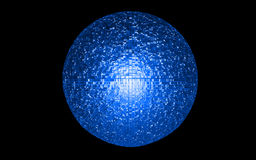 Energy ball Stock Photography