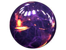 Energy ball Stock Image