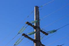 Energy. Bearing, transmission lines,energy transfer Stock Images