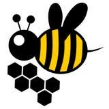 Energy bee Stock Photo