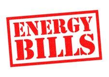 ENERGY BILLS Royalty Free Stock Photo