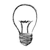 energy bulb power icon Stock Photography