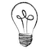 energy bulb power icon Stock Image