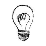 energy bulb power icon Stock Photo