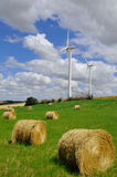 Energy in campaign. In Lauragais, near Toulouse, France stock photos