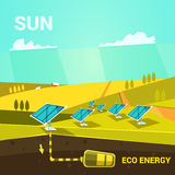 Energy cartoon Royalty Free Stock Images