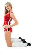 Energy cheerleader Stock Photography