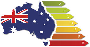 Energy class australia Stock Photo
