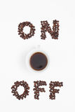 Energy Coffee Royalty Free Stock Photography