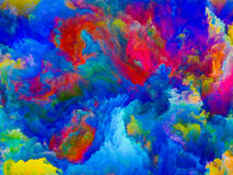 Energy of Colors Royalty Free Stock Photo