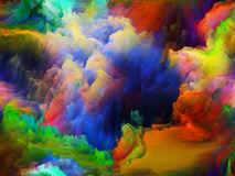 Energy of Colors Stock Image