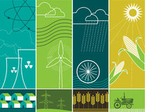 Energy Concepts stock illustration