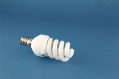 Energy conscious bulb lamp Royalty Free Stock Image