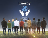 Energy Conservation Earth Planet Concept Royalty Free Stock Photo