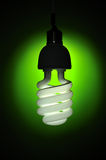 Energy conservation lightbulb Stock Photos