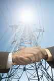 Energy contract Royalty Free Stock Images