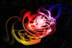 Energy of cosmos royalty free stock photography