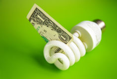 Energy cost Royalty Free Stock Photo