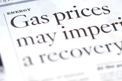 Energy Costs Stock Photo