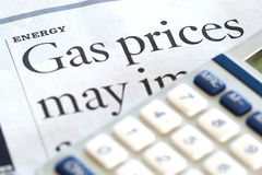 Energy Costs Stock Photography