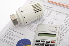 Energy costs Stock Image