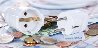 Energy Costs Concept Royalty Free Stock Images